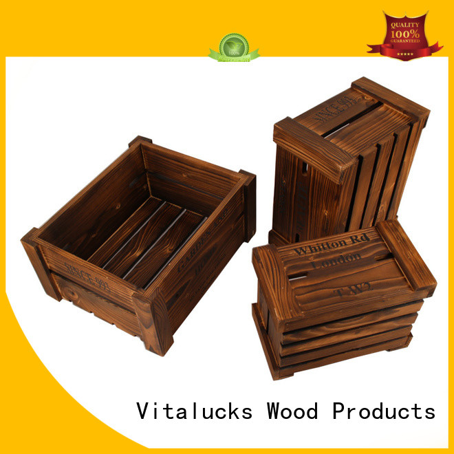 Vitalucks wooden crate high quality fast delivery