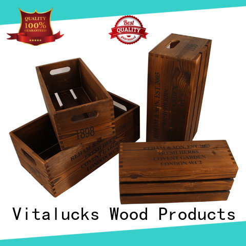 unfinished wooden gift boxes wholesale high-quality for pakaging