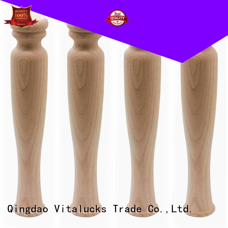 Vitalucks wooden table legs great technical ability for wholesale