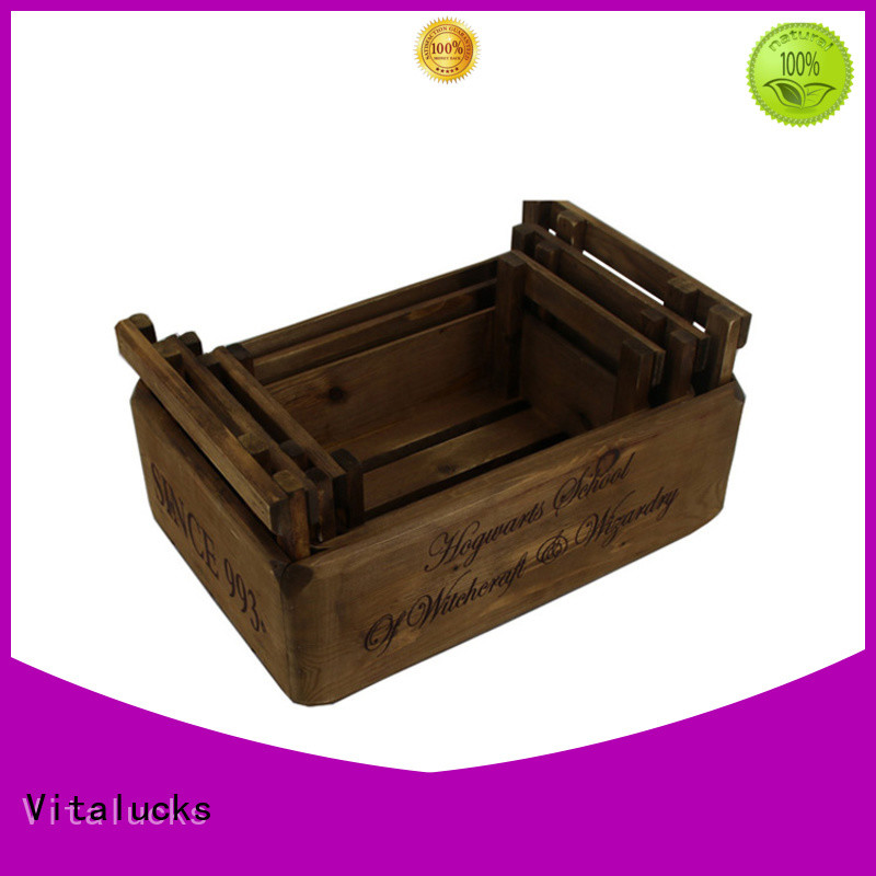 fine workmanship wooden wine crates popular fast delivery