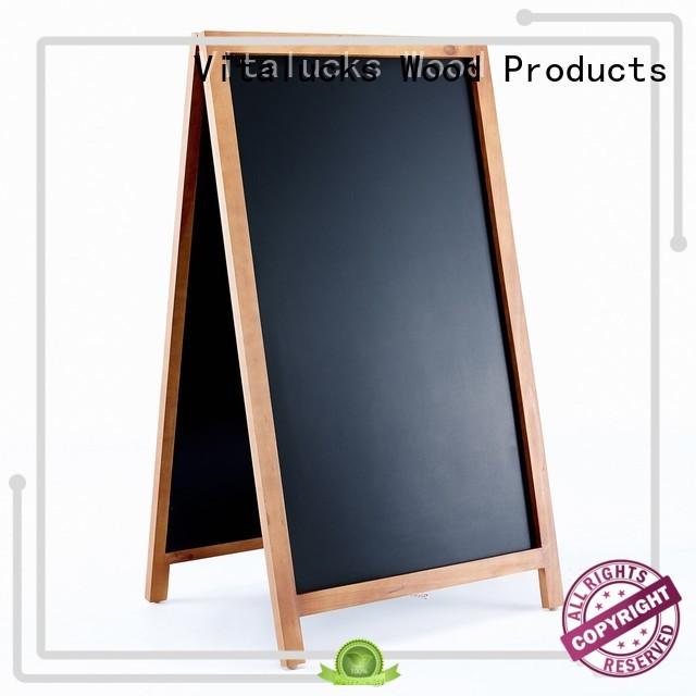 popular wooden blackboard solid silk-screen printing