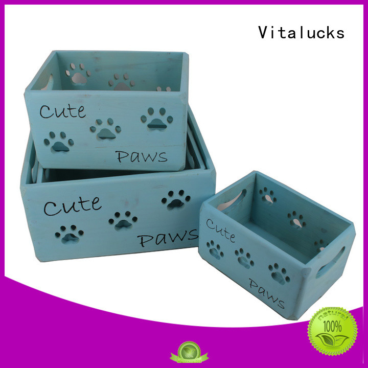 wooden crate at discount Vitalucks