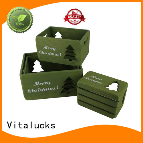 Vitalucks advanced production technology wooden crate box popular fast delivery