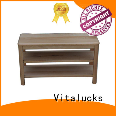 Vitalucks top-selling wood shoe cabinet furniture simple design for wholesale