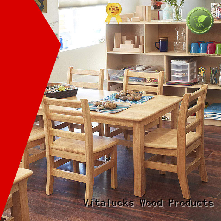 Vitalucks custom solid wooden chair latest deisign fast delivery