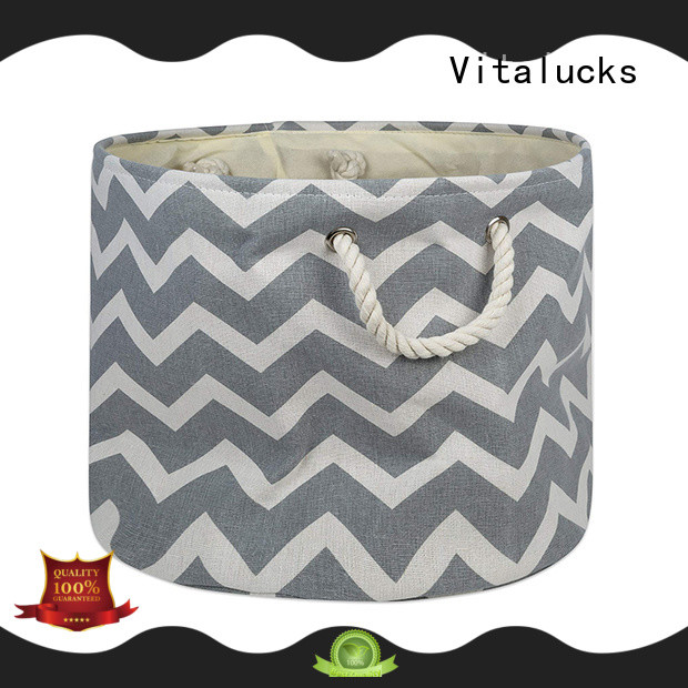 Vitalucks fabric storage baskets durable large capability