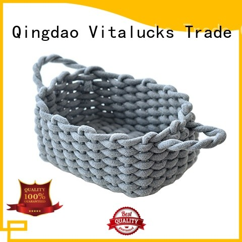 custom storage baskets for cube shelves best price