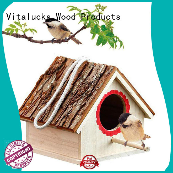 Vitalucks latest decorative bird houses environmental friendly bulk supply