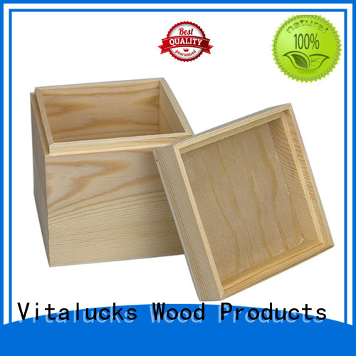 customized bulk wooden boxes quality assured supply
