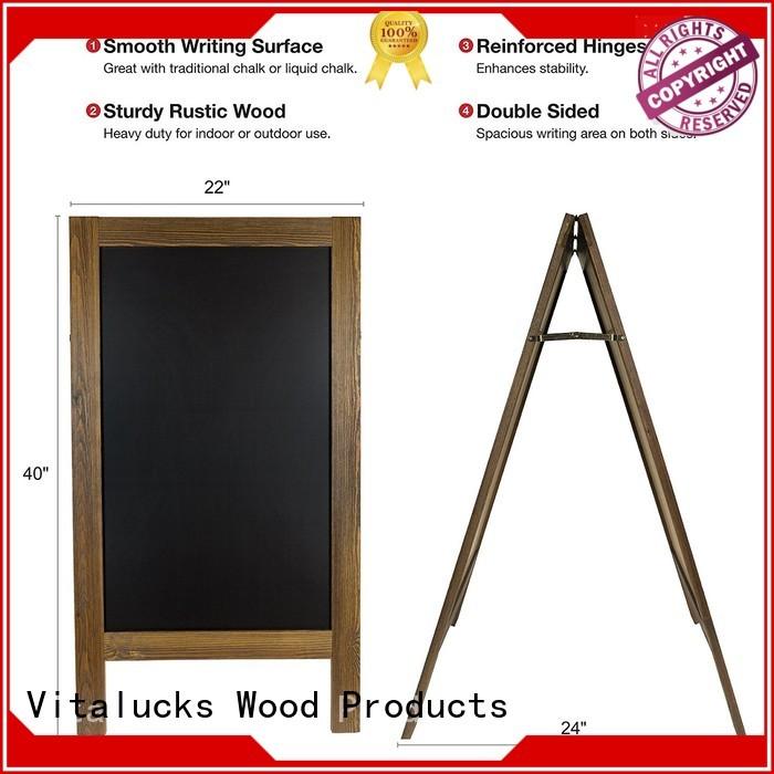 latest custom chalkboard wind resistant wholesale supply