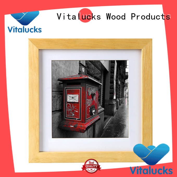 Vitalucks fashion wholesale picture frames sample manufacturing