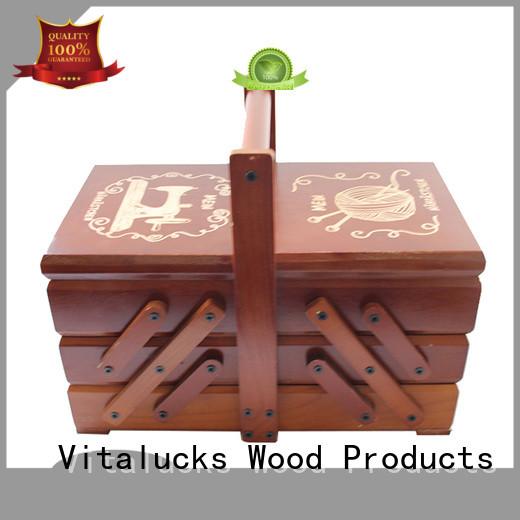 Vitalucks wooden packaging box large capacity customization