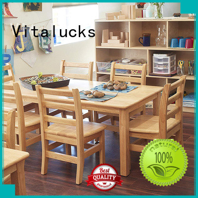 Vitalucks custom solid wooden chair commercial fast delivery