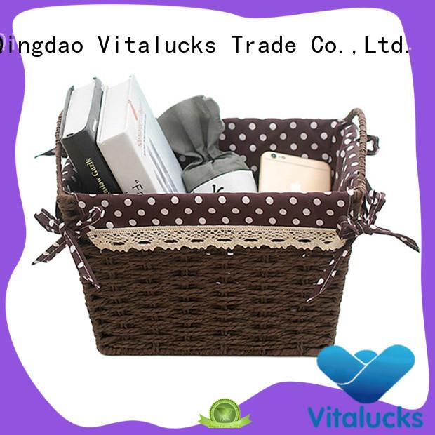 Vitalucks nursery storage baskets quality assured top brand