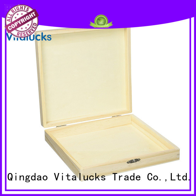 Vitalucks customized custom cigar boxes promotional production