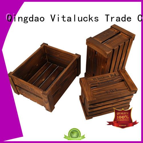 Vitalucks wooden crate hot-sale