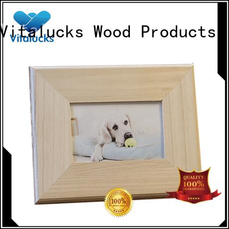 Vitalucks chic large wooden photo frames bulk supply best factory