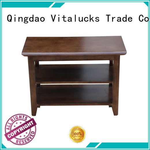 Vitalucks durable wood shoe cabinet furniture large capacity for family