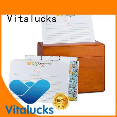 Vitalucks personalised wooden box wholesale