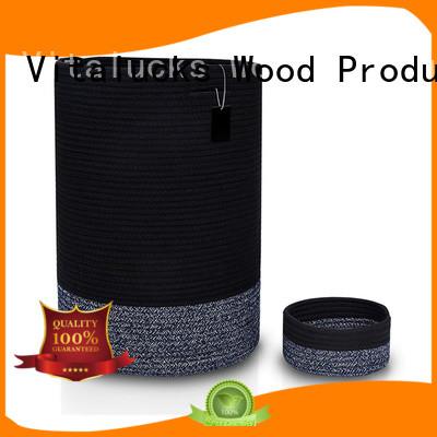 Vitalucks large basket for blankets practical customizaition