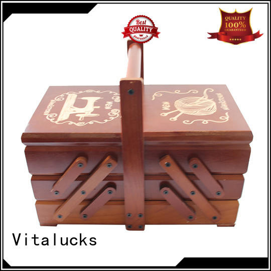 Vitalucks wooden packaging box fashion fast delivery
