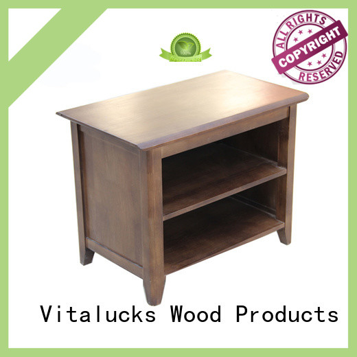 Vitalucks top-selling timber shoe rack simple design for family