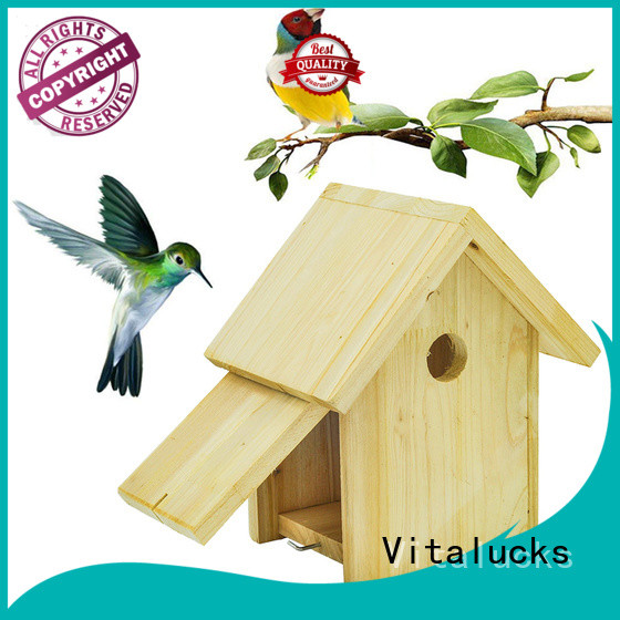 Vitalucks wooden bird box environmental friendly bulk supply